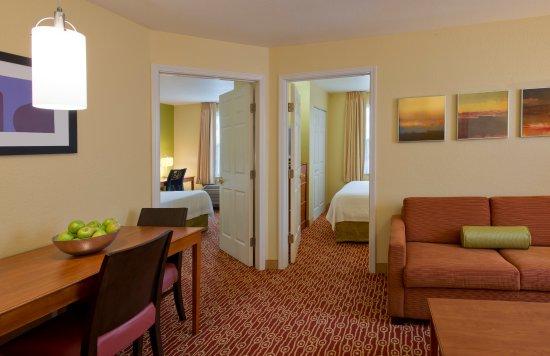 2 bedroom suite picture of towneplace suites cleveland westlake westlake tripadvisor