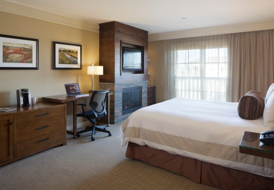 Hotel Abrego: Premier Fireplace King guest room