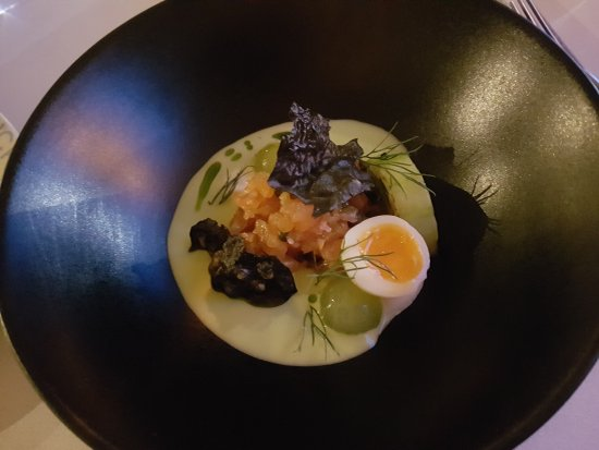 Aberlady, UK: Outstanding, creative and delicious taster menu!