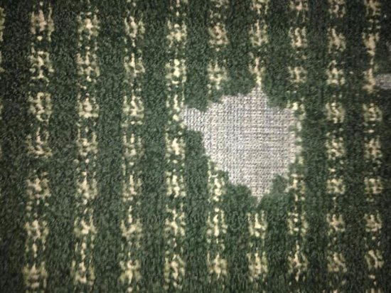 Roseville, CA: Carpeting needs replacing throughout the property