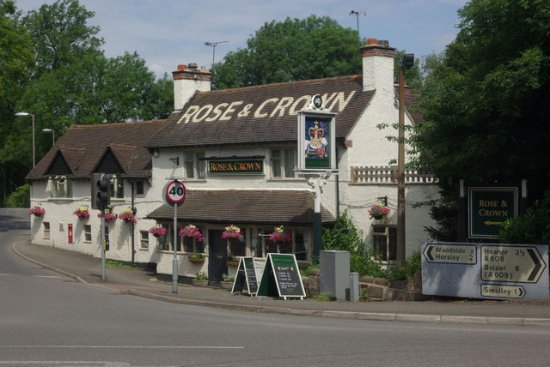 Morley, UK: Rose & Crown @ Smalley cross roads