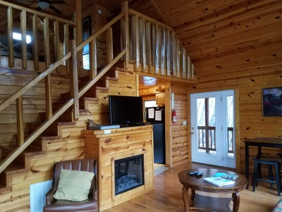 Rogers, KY: Wildcat Cabin - living room