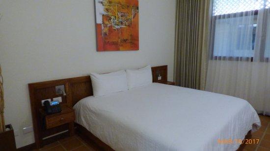 Nandayure, Costa Rica: Dormitorio cómodo, pero carece de vistas.