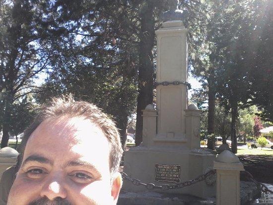 Plaza San Martin: el monumento de San Martin