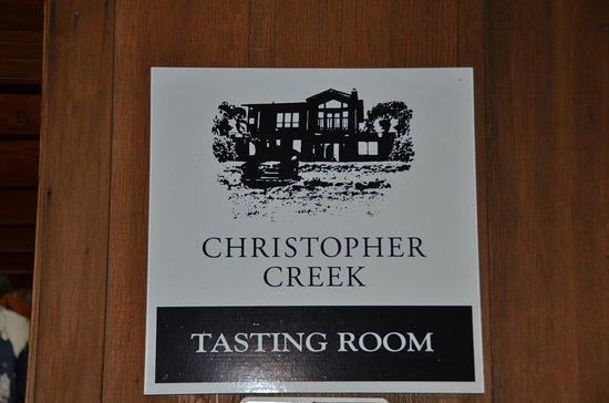 Хилдсбург, Калифорния: Christopher Creek Winery