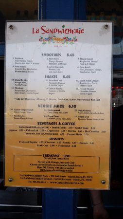 Photo of American Restaurant La Sandwicherie at 229 14th St, Miami Beach, FL 33139, United States
