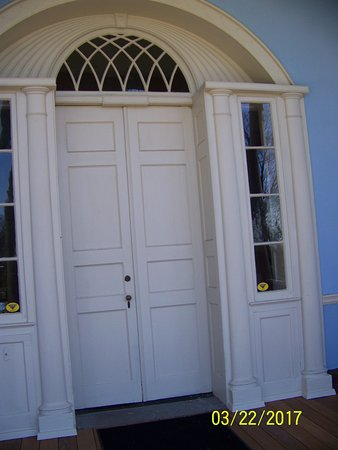 Farmington Historic Home: Abraham Lincoln walked through this door