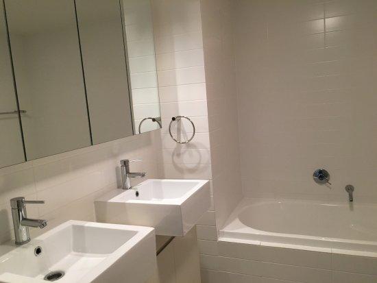 Cote D Azur Main Bathroom With Bath Tub And Shower