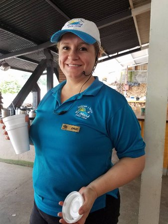 Marisqueria El Mana: Lovely Manager
