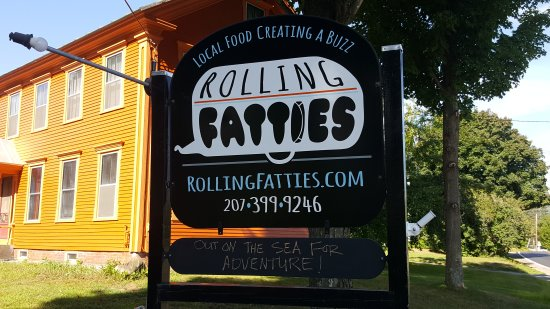 Kingfield, ME: Rolling Fatties