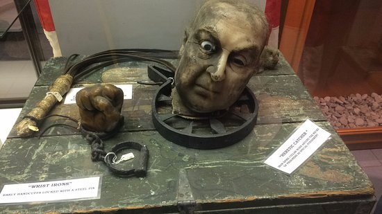 Sandusky Maritime Museum: Torture devices used