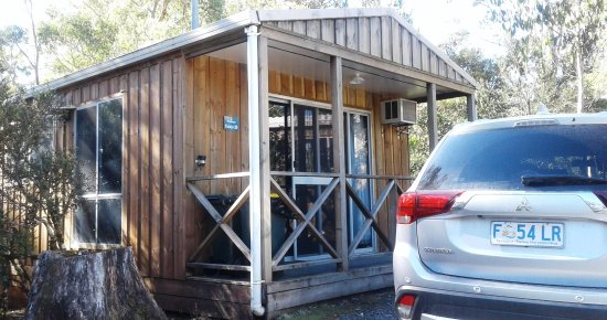 Cradle Mountain Wilderness Village: This was our spa cabin, slept 4