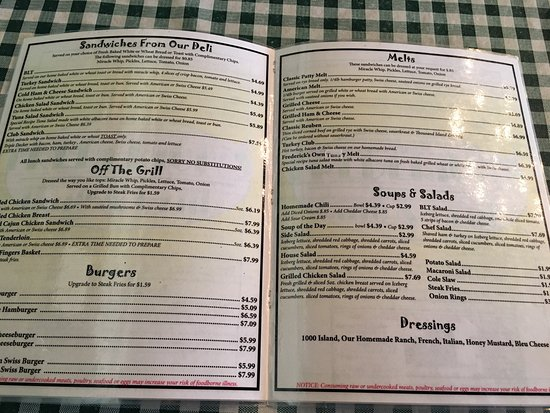 Frederick S Cafe Corydon In