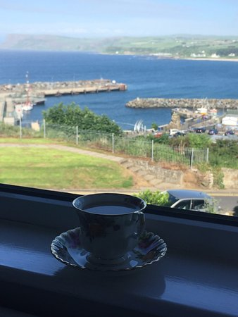 Ardaghmore Bed and Breakfast: view from Rathlin Room