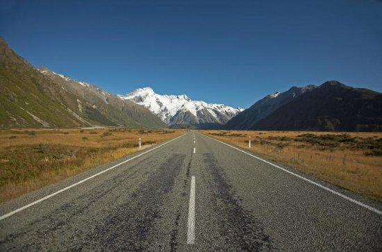 Christchurch til Mount Cook One-Way Tour