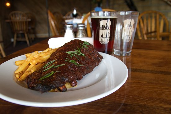 Dillon, CO: Beer infused ribs