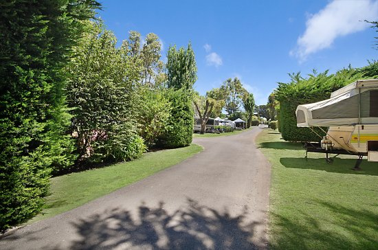 Port Fairy Holiday Park: Powered Camp Sites