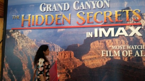 Grand Canyon Imax Theater : At the IMAX theater
