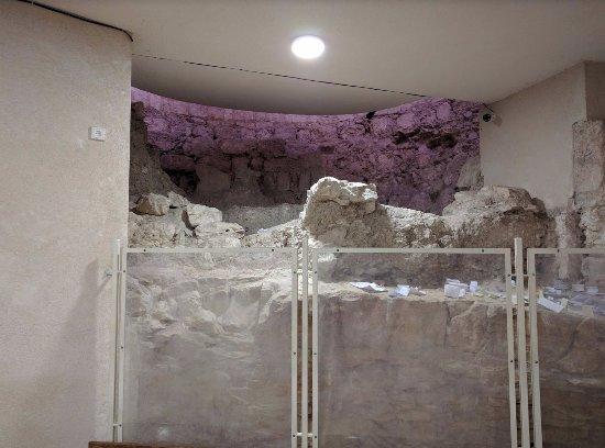 Kfar Cana, Israel: 地下にある遺跡