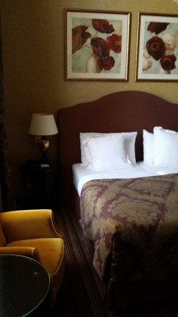 Grand Hotel Casselbergh Bruges: chambre