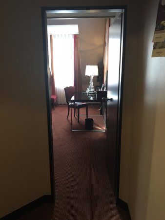 Mercure Hotel Muenchen City Center : Utsikt in mot rum