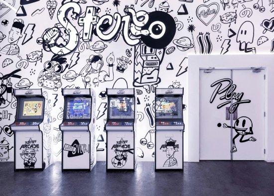 Stereo Arcade: The Arcade