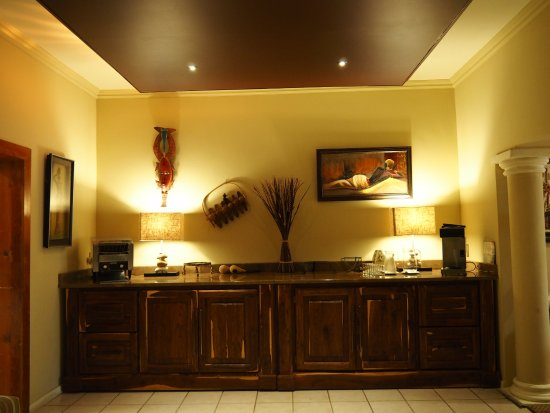 Kwalala Lodge: Breakfast Area