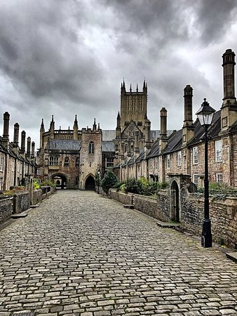 Wells, UK : Travelling back in time
