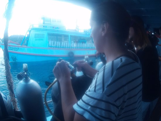Ihasia Diving Koh Tao: Enseñan muy bien