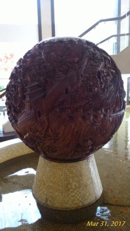 Chaozhou Hotel: Wood sculpture