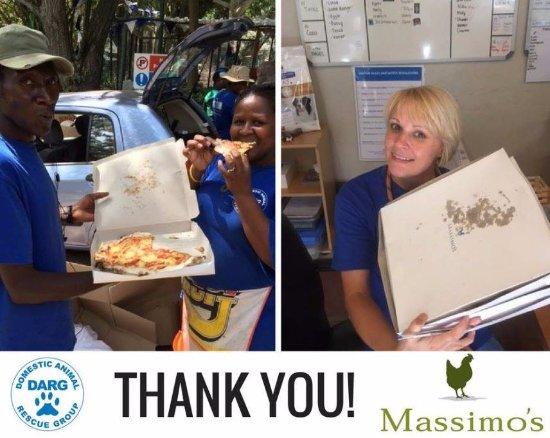 Massimo's: helping the community