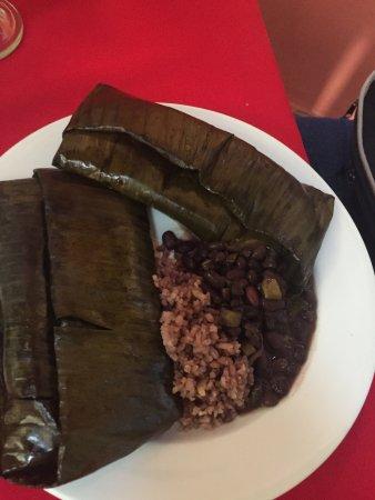 La Casa del Pan : Tamales au mole