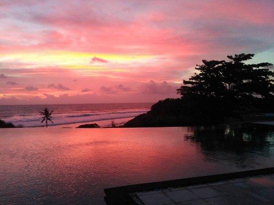 Sunset at Villa Babar
