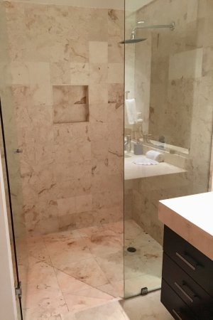 The Elements Oceanfront & Beachside Condo Hotel: Ensuite Shower
