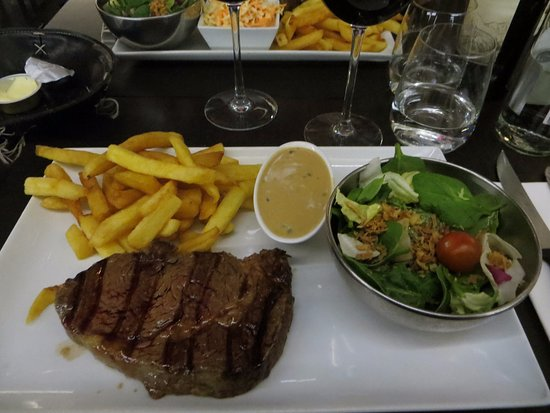 Meet Meat Schuman: Delicious Rib Eye steak