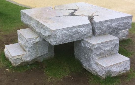The Stone Table Picture Of C S Lewis Square Belfast Tripadvisor