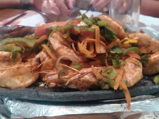 Star Fish Restaurant: Креветки никакие, просто безвкусные
