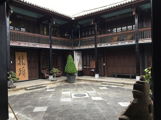 one of the courtyard gardens linden hotel dali picture of the rh tripadvisor com