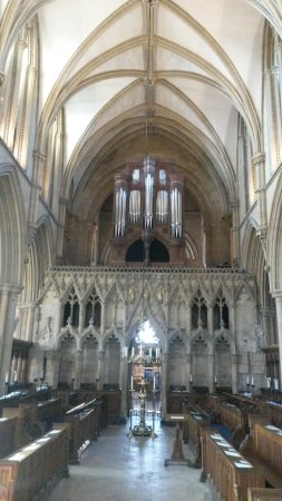 Southwell Minster: The quire.