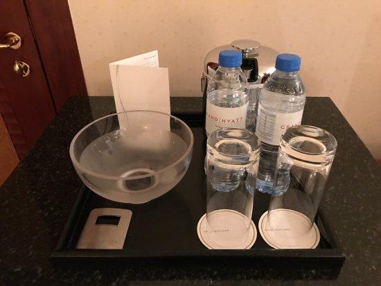 An Empty Vase For Fruit Picture Of Grand Hyatt Dubai Dubai