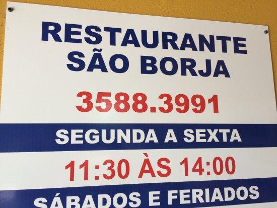 Restaurante Fazenda Sao Borja Foto