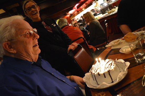 Pennsauken, NJ: Birthday Cake and our Fabulous Waitress