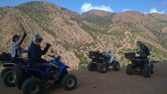 Región de Sus-Masa-Draa, Marruecos: activité des quads