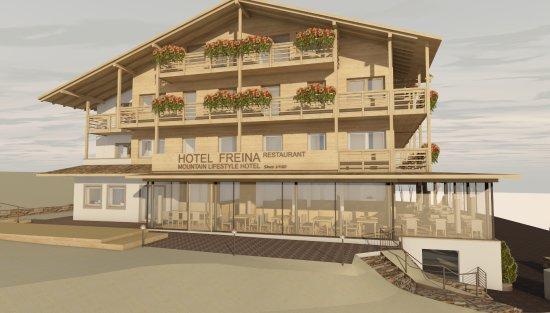 Hotel Freina: nuova sala ristorante 2017