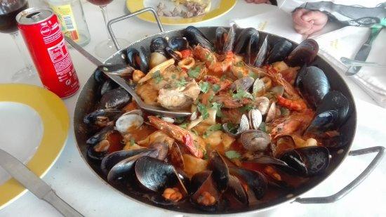 Aldeia do Meco, Portugal: Frigideira de peixe. Muito bom