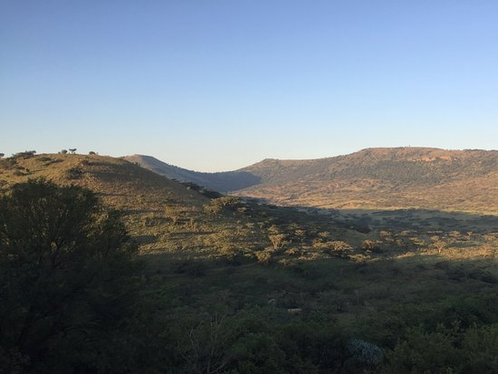 Three Trees at Spioenkop: View from the Churchill suite