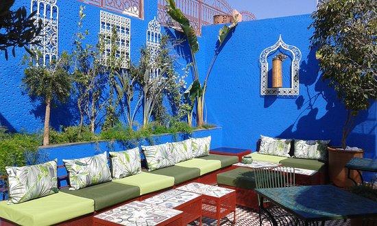 Terrasse zen du Riad Andallaspa - Bild von Andalla Riad & Spa ...