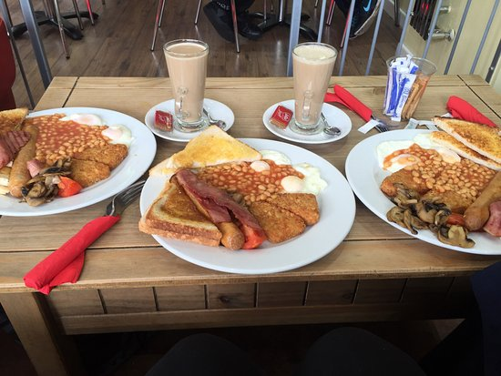 Halal Fried Breakfast Picture Of The Red Couch Birmingham Tripadvisor
