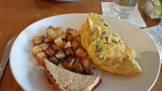 Palisade, CO: Breakfast omelet
