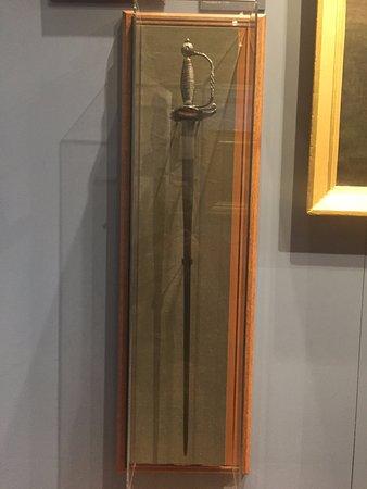 Morristown, NJ : General Washington's sword